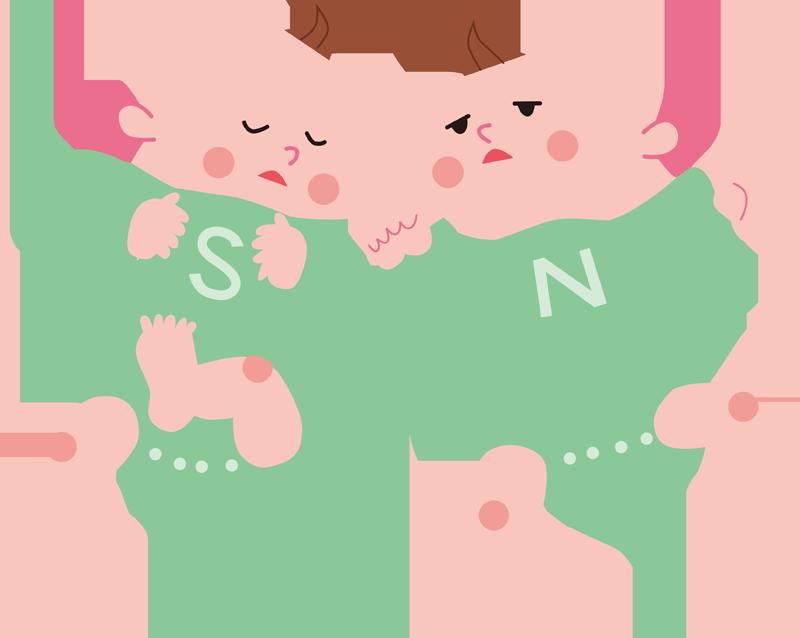 夏の赤ちゃん月齢別対策、外出、温度、夏かぜ、脱水症、熱中症、誤飲