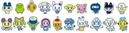 スイーツみーつでミクスできるキャラクターは27種類