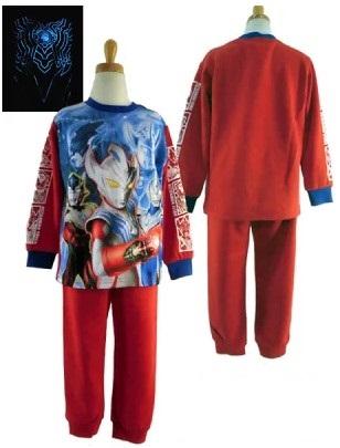 ウルトラマンタイガの光るパジャマ