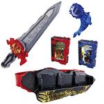 仮面ライダーセイバーのおもちゃ変身ベルトなどの最安値探し